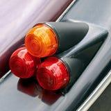Luces de la cola del coche Imagen de archivo libre de regalías