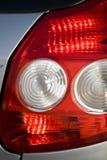 Luces de la cola del coche foto de archivo