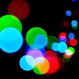 Luces de la decoración Imagen de archivo libre de regalías