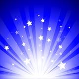Luces de la etapa Imagen de archivo libre de regalías