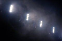 Luces de la etapa en el concierto Imagen de archivo libre de regalías