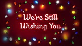 Luces de la Feliz Navidad