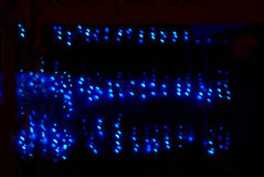 Luces de la matriz Foto de archivo libre de regalías