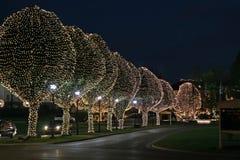 Luces de la Navidad 1 Imagen de archivo libre de regalías