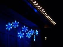 Luces de la Navidad Imagen de archivo