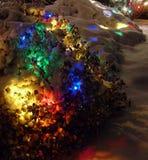 Luces de la Navidad Fotografía de archivo