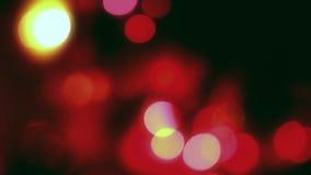 Luces de la Navidad almacen de metraje de vídeo