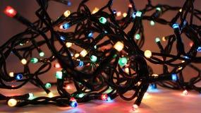 Luces de la Navidad 2 Fotografía de archivo