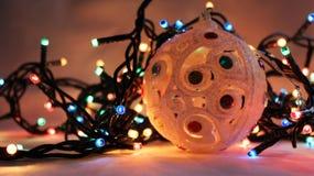 Luces de la Navidad 1 Fotos de archivo