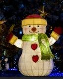 Luces de la Navidad Imágenes de archivo libres de regalías