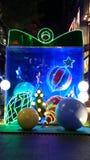Luces de la Navidad Imagen de archivo libre de regalías