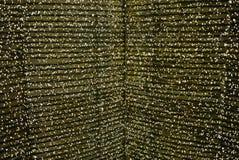 Luces de la Navidad contra techo Imagen de archivo libre de regalías