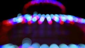 Luces de la Navidad del centelleo Blurred metrajes