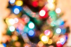 Luces de la Navidad del día de fiesta imagenes de archivo