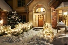 Luces de la noche Imagen de archivo libre de regalías