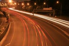 Luces de la noche fotografía de archivo