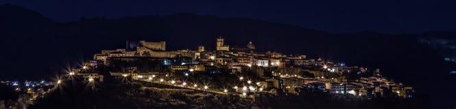 Luces de la noche Imagenes de archivo