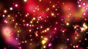 Luces de la noche de Gloden ilustración del vector