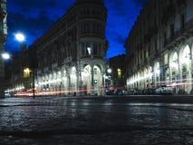 Luces de la noche en la ciudad Imagen de archivo