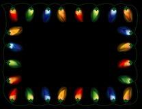 Luces de la pimienta de chile, multicoloras ilustración del vector