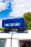 Luces de la policía Imagenes de archivo