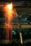 Luces de la soldadura Imagenes de archivo