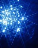 Luces de las estrellas Imagen de archivo libre de regalías