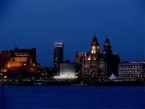 Luces de Liverpool Imagen de archivo libre de regalías