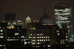 Luces de Londres fotos de archivo