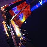 Luces de Mercedes Imágenes de archivo libres de regalías