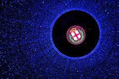 Luces de Milano Fotografía de archivo libre de regalías