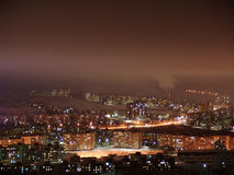 Luces de Murmansk Imagen de archivo libre de regalías