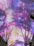 Luces de neón en la calle de Fremont, las Fotografía de archivo libre de regalías