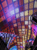 Luces de neón en la calle de Fremont, las Imagenes de archivo