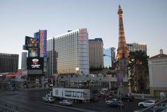 Luces de neón de Las Vegas imagenes de archivo