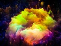 Luces de nubes interestelares Foto de archivo libre de regalías