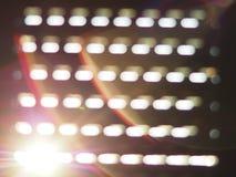 Luces de Sun Foto de archivo