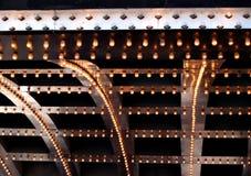 Luces de teatro fotos de archivo