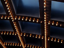 Luces de teatro Foto de archivo