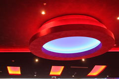 Luces de techo Foto de archivo libre de regalías