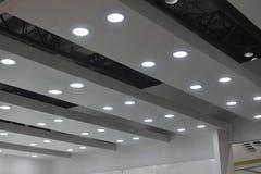 Luces de techo llevadas foto de archivo libre de regalías