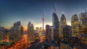 Luces de Toronto Imagen de archivo