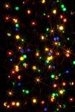 Luces Defocused Fotografía de archivo