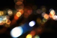 Luces defocused coloridas del bokeh Foto de archivo libre de regalías
