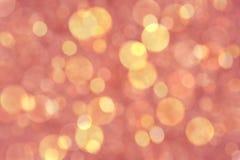 Luces defocused coloridas del bokeh Fotografía de archivo