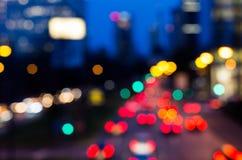 luces defocused del bokeh Fotografía de archivo