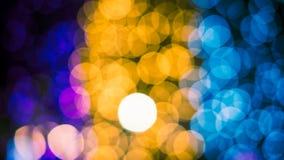 Luces Defocused del bokeh del extracto del fondo de las luces Foto de archivo libre de regalías