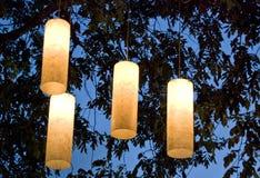 Luces del árbol Imágenes de archivo libres de regalías