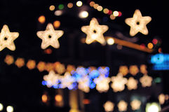 Luces del Año Nuevo Fotos de archivo libres de regalías