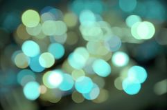 Luces del agua Imagen de archivo libre de regalías